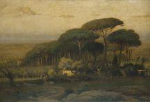 Historical Landscape Paintings