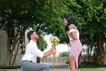 Engagement Shoot at Curtis Hixon Park in Tampa Florida