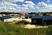 Bâtiment public - Vivanbois / Vivanbois : Construction bois: Charpente, ossature bois, bardage