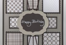 Male Birthday card inspiration / by Darsey Bird