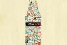 The beer world (heineken, Guinness...) / A way to become a beer expert... to collect nice beer posters
