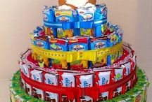 Торт из конфет и сока