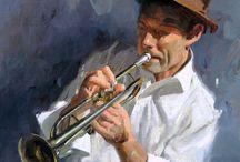 Eric Bowman uomo.con tromba