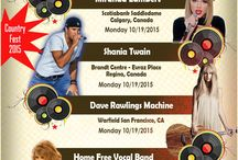 Country Concerts 2015