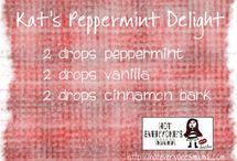 My Essential Oil Diffuser Recipes