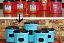 DIY Recycling / Anything can be recycled if someone is willing to reuse it! Here are some projects and ideas to repurpose or upcycle things that might otherwise be thrown away.
