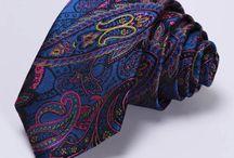 hodvábne kravaty a vreckovky