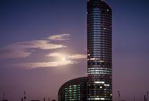 SKY Tower w obiektywach