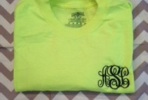 monogrammed / by graciee 😘