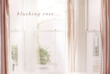 Blush and Pinks / ideas for decorating with pinks