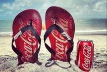 Coca-Cola billeder. / Billeder som kan bruges til kort.