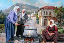 Türk ressamlardan