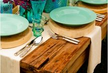 Party Tables / This board is a great place to find amazing tablescapes for parties. Get your design ideas right here!
