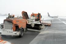 Winter at Chopin Airport