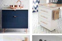 Ikean huonekalujen tuunaus