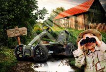 BERG ♥ Off-road / Have fun roaring through the mud or charging across the hills? Nothing's too crazy for these Off-road gokarts | Wil jij het liefst rijden door de modder en op ruig terrein?