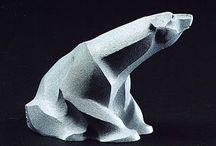 Polar Bear Sculptures