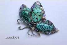 Inspiratie - bead embroidery