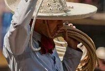 Mexican Charro y Charra / by Annette Barrera Jacobsen