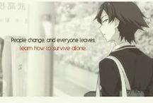 Random anine quotes