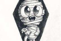 Dibujos terror
