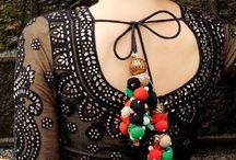 sari blouses my fav
