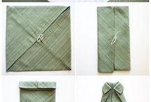 Pliages serviettes