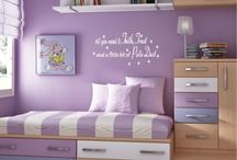 Kids Bedrooms / Decoration and space saving ideas in kids bedrooms.