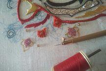 Atelier les Embruns broderie d'art / Création broderie d'art et broderie or de l'atelier les Embruns