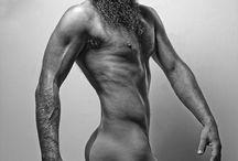 Body Art Male Nude by Justyna Ł Bień