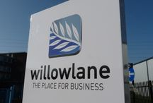Willow Lane Industrial Estate / Corporate and Industrial signage is a key part of our offerings, if you like what you see and have a industrial or retail requirement we would like to speak with you. / by Surrey Banners and Signs