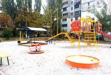 Детские площадки от производителя / Лучшие детские площадки Украины. Качели, карусели, игровые комплексы и игровое оборудование любой сложности