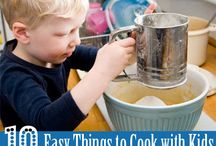 Cooking with Kids / Recipes, snacks, meals and treats to make with and for the kids! Great toddler, preschooler and big kid ideas!