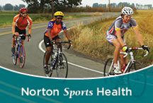Norton Sports Health / Whether you are someone who wants to stay fit, a weekend warrior, high school athlete, collegiate athlete or professional athlete, Norton Sports Health will help you prevent sports-related injuries as well as get you back in the game or remain active following a sports-related injury.