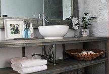 Master Bathroom Ideas / by Southbound Hippie, LLC
