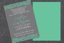Mint Wedding Design / Contact LM Design for custom Wedding Invitation & Stationary Designs & Printing (Including Letterpress)  www.LMDesign.co www.facebook.com/LMDesignsc  Lindsey@LMDesign.co