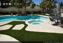 SYNLawn poolside