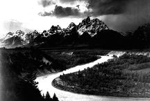 Ansel Adams / His pictures move me / by Maija Green-Mayne