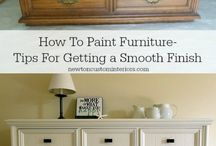 Painted Furniture / Chalk painted furniture
