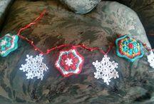 adornos navideños crochet