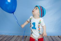 Dylan's First Birthday / Ideas for photos, decorations, ect.
