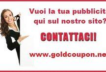 www.goldcoupon.net / Pubblicizza la tua ATTIVITA' a prezzi piccoli piccoli