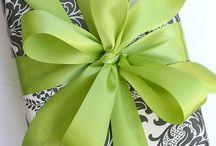 Wrap: gift and other / Ideas para envolver nuestros regalos