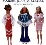 Crochet Barbie Fashions