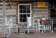 Mountain Getaway / The mountains, especially the Appalachian Mountains - another favorite escape for unwinding and relaxing.