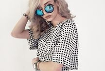 Black + white / Monochrome clothing...