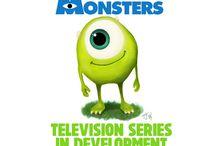 Pixar Monsters-Themed TV Series
