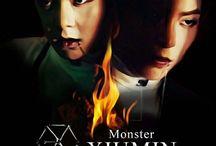EXO Monster iPhone Wallpaper