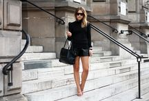 """Style - F/W Shorts / All the looks of the """"Style"""" boards are choosen regarding my own wardrobe and clothes that I already have. I look for easy and clever ideas (some pretty obvious) for lack of inspiration days.  You won't find here things I like but won't wear on a daily basis."""