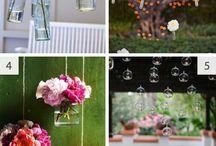 Outdoorsy wedding